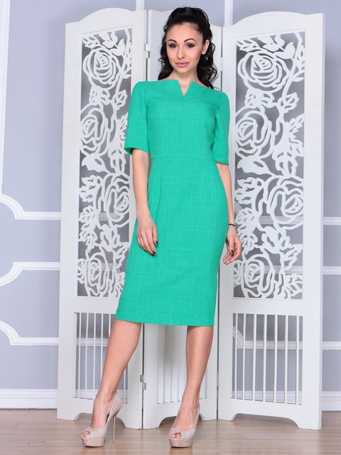 Платье зеленое Laura Bettini 3983842