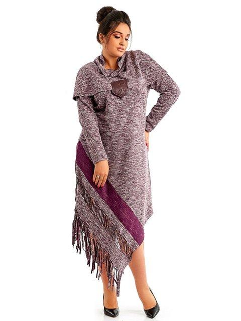Сукня бордова LibeAmore 3992106