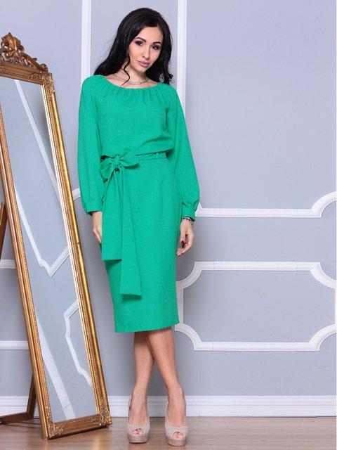 Платье зеленое Rebecca Tatti 3993189