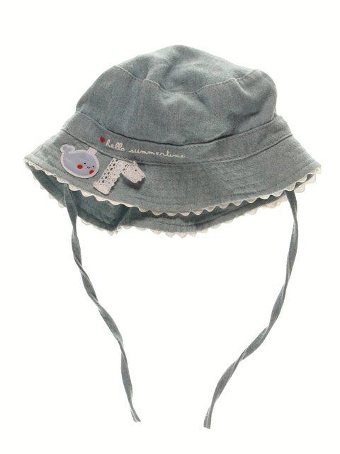 Панамка цвета джинс Baby Club 3963490