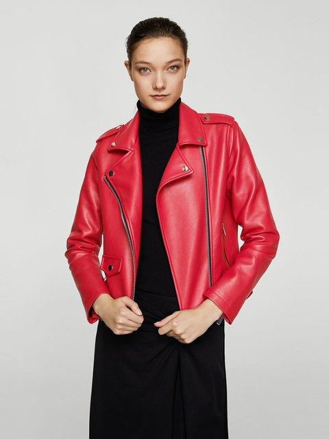 Куртка червона Mango 3938970
