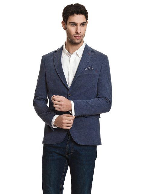Пиджак синий JAVIER LARRAINZAR 3994927