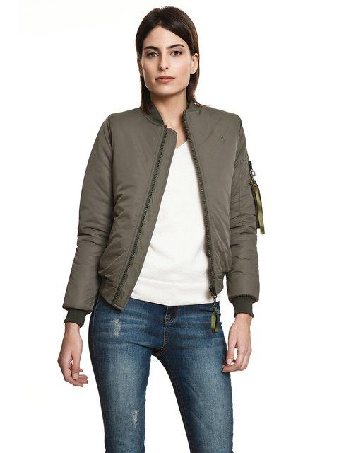 Куртка кольору хакі JAVIER LARRAINZAR 3994984