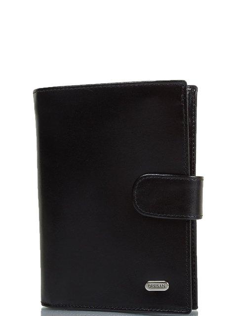 Гаманець чорний з органайзером для документів DESISAN 3969493