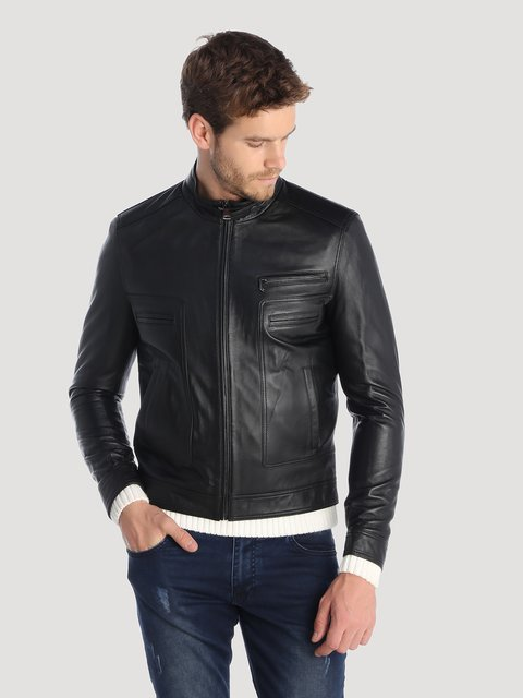 Куртка черная Giorgio di Mare 3993059
