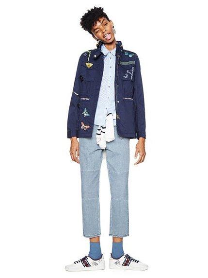 Куртка синя Desigual 3996916