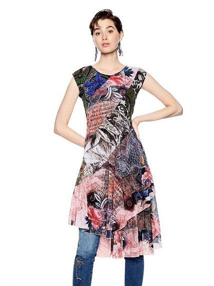 Сукня в принт Desigual 3997123