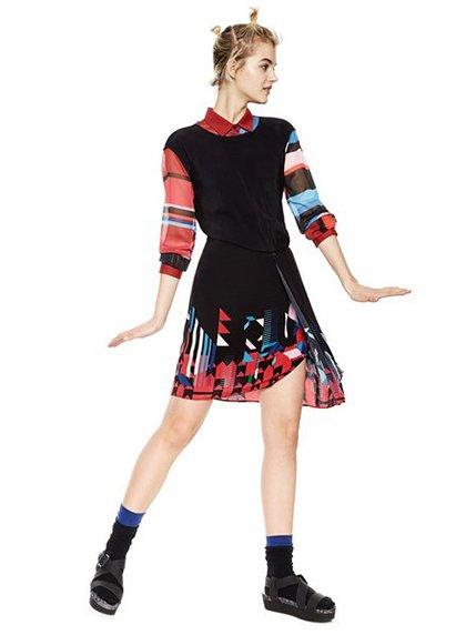 Сукня чорна Desigual 3997129