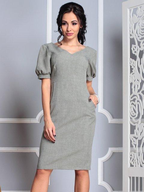 Платье темно-оливковое Laura Bettini 3997220