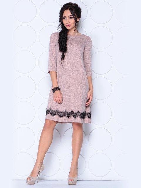Платье цвета пудры Laura Bettini 3997370