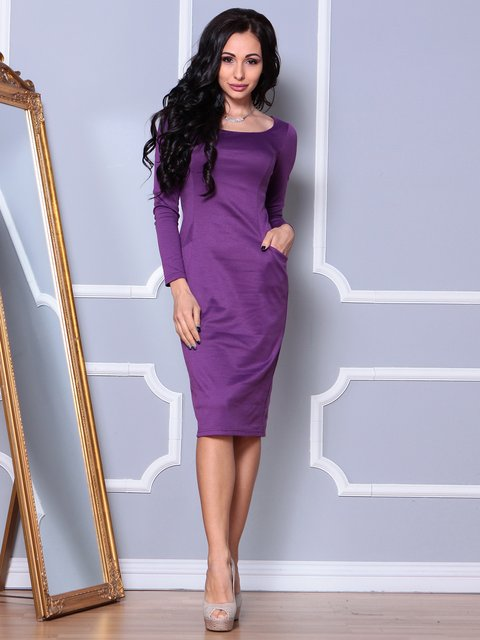 Платье темно-фиалковое Laura Bettini 3997400