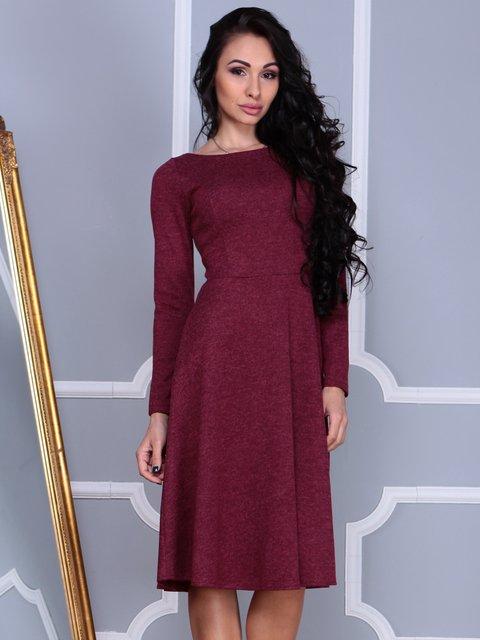 Платье бордовое Laura Bettini 3997454