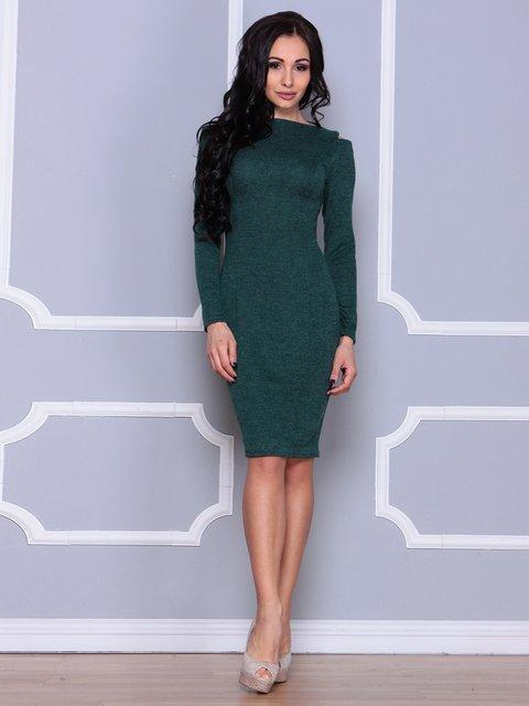 Платье темно-изумрудное Laura Bettini 3997470