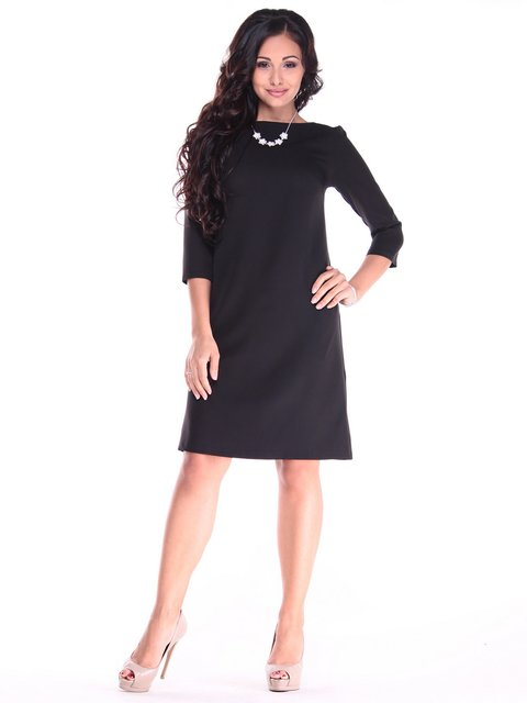 Платье черное Maurini 3997567