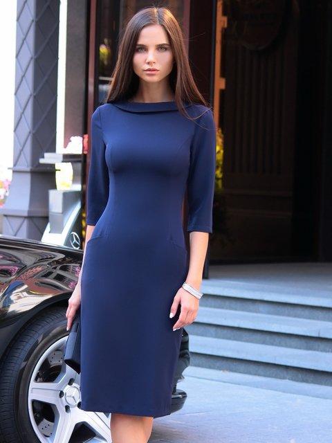 Платье темно-синее Maurini 3997579
