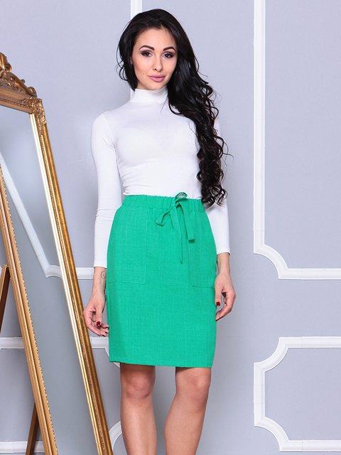 Юбка зеленая Laura Bettini 4002295