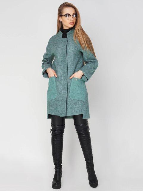 Пальто оливкового кольору Leo Pride 4003444