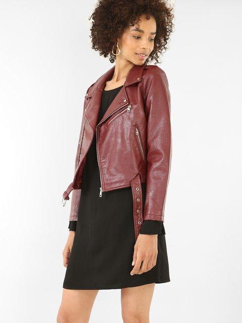 Куртка бордова Pimkie 3839850