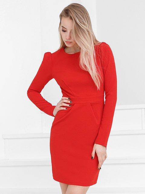 Платье красное Gepur 3993993