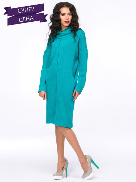 Платье бирюзовое Jet 2762921