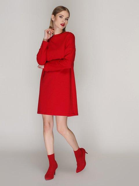 Платье красное Loca 4000549