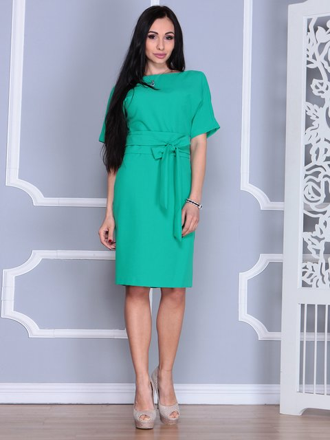 Платье зеленое Rebecca Tatti 4012386