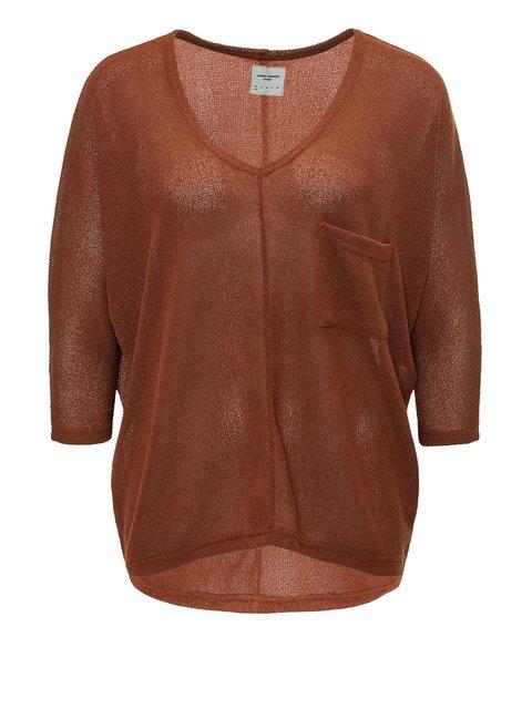 Пуловер коричневый Vero Moda 4013237