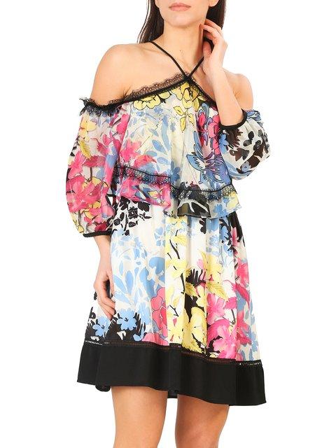Платье в принт Annarita N 4011214