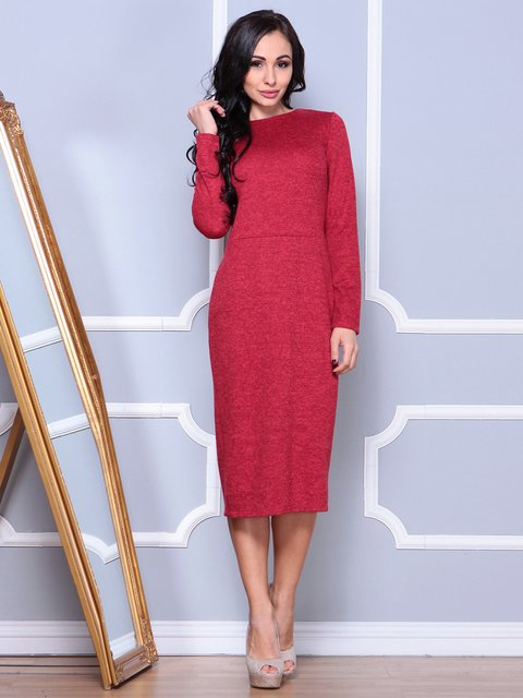 Платье красное Laura Bettini 4002629