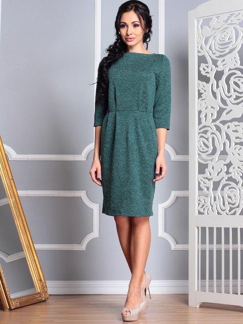 Платье темно-изумрудное Laura Bettini 4007198