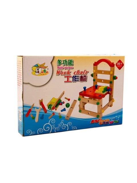 Стілець-конструктор дерев'яний Elephant 4019565