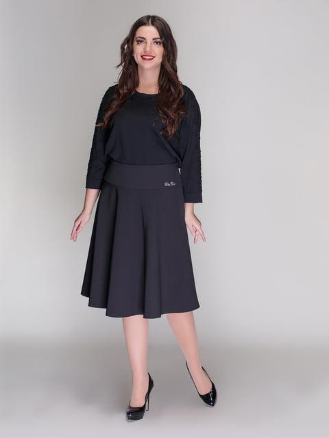 Юбка черная Elisa Fanti 4009718