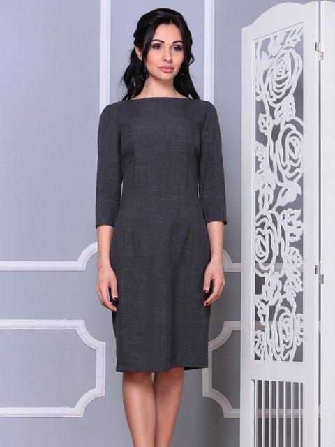 Сукня графітового кольору Laura Bettini 4028072