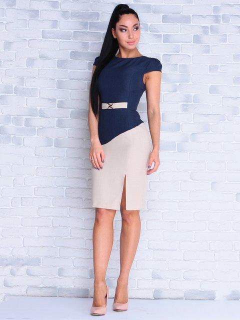 Платье темно-синее Victoria Loks 4028142