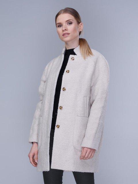 Пальто молочного цвета Springfield 2992448