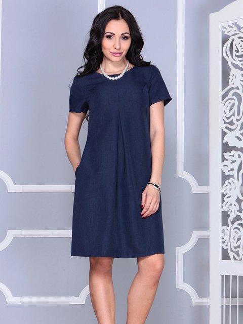 Сукня темно-синя Rebecca Tatti 4021160
