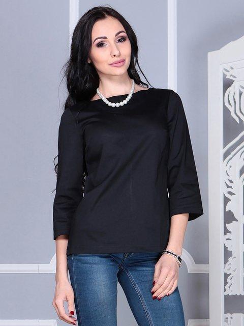 Блуза чорна Laura Bettini 4021166