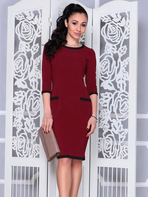 Платье сливового цвета Laura Bettini 4021171