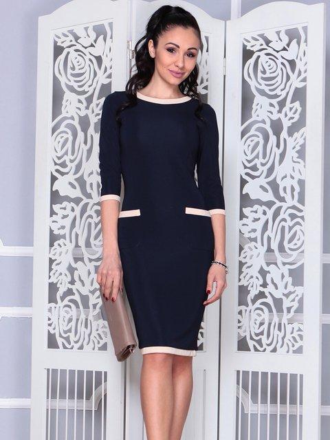 Сукня темно-синя Laura Bettini 4021172