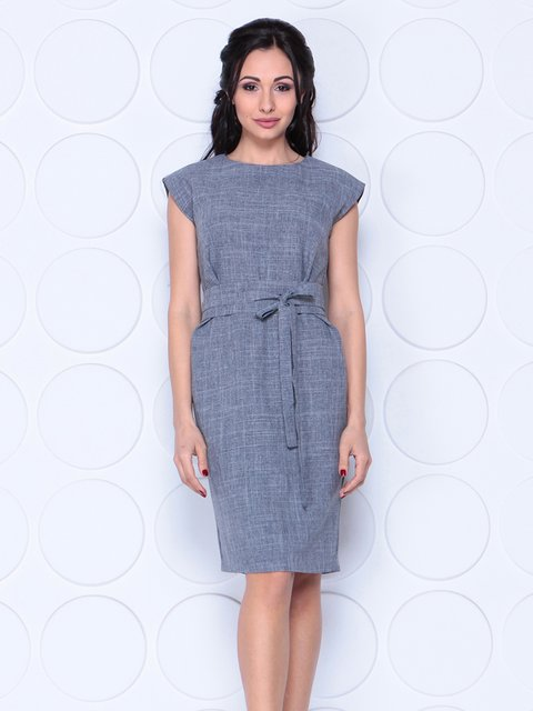 Платье дымчатого цвета Laura Bettini 4028052