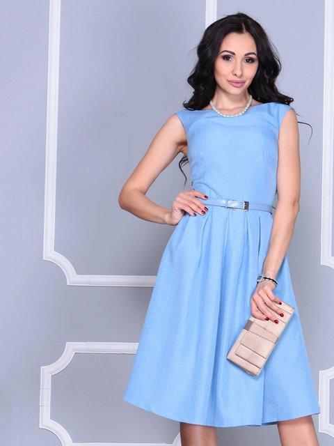 Платье голубое Laura Bettini 4028058