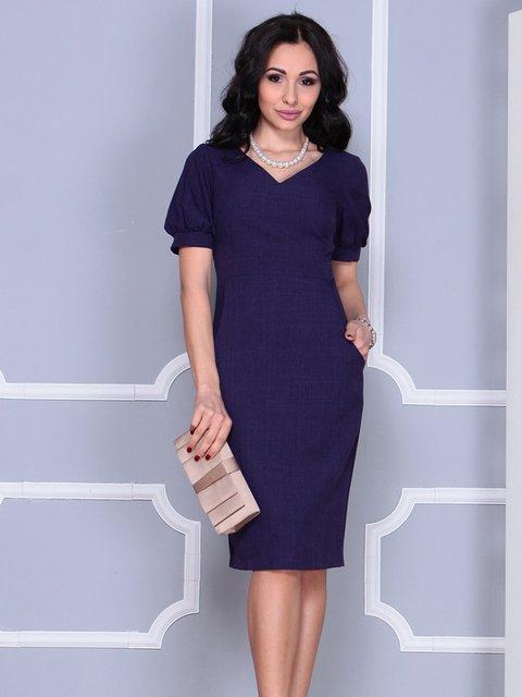 Платье темно-фиолетовое Laura Bettini 4028068