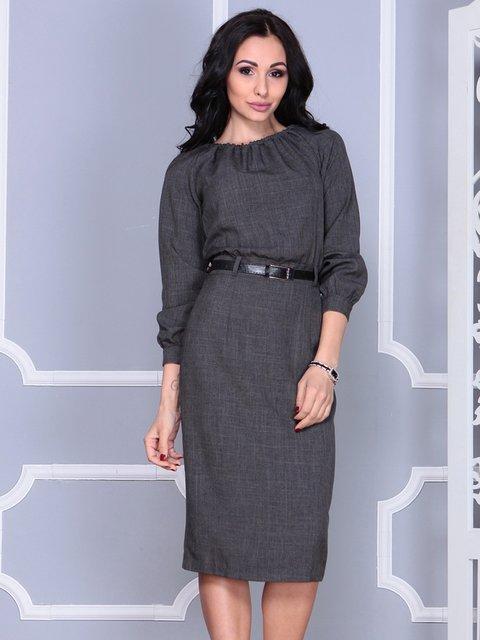 Сукня графітового кольору Laura Bettini 4028086