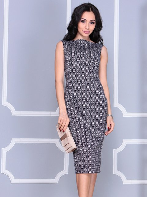 Платье в принт Dioni 4028100