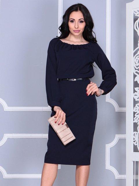 Сукня темно-синя Dioni 4028104