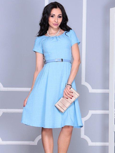 Платье голубое Maurini 4028119