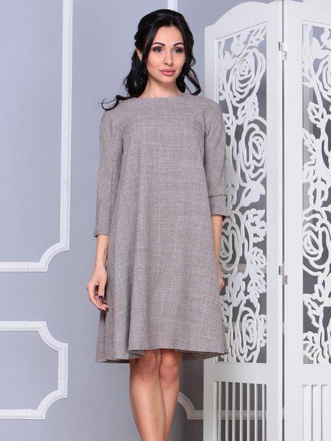 Платье цвета мокко Laura Bettini 4042189
