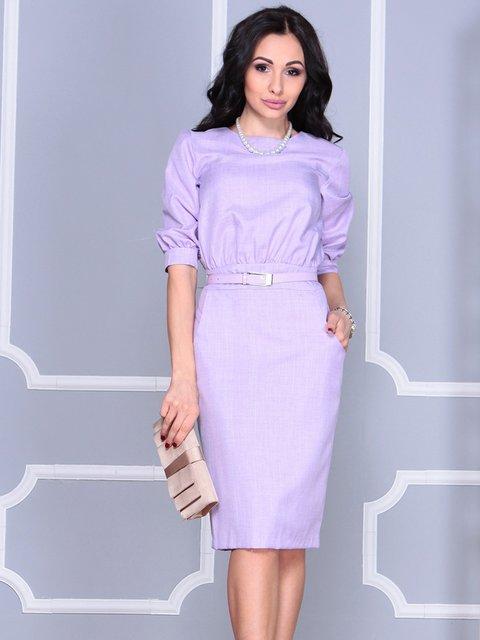 Платье светло-фиалковое Rebecca Tatti 4042193