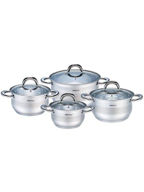 Набір посуду (8 предметів) King Hoff 4043307