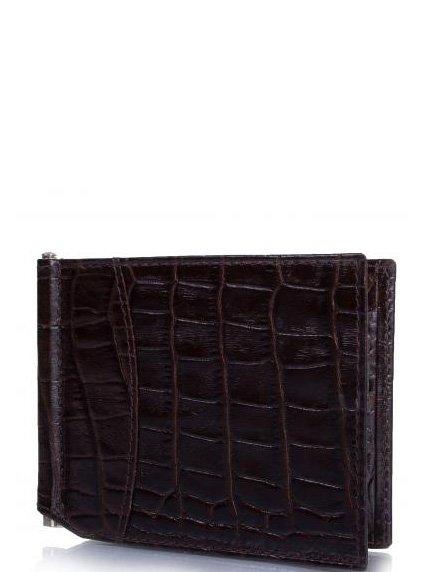 Затискач для купюр коричневий Canpellini 4033468
